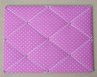 Mix/ Pink cloth display table with white stars
