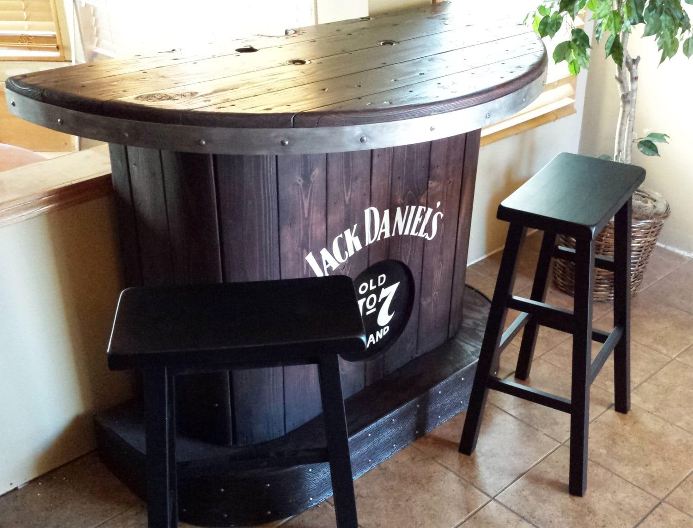 VERKAUFT nach Hause Jack Daniels bar benutzerdefinierte