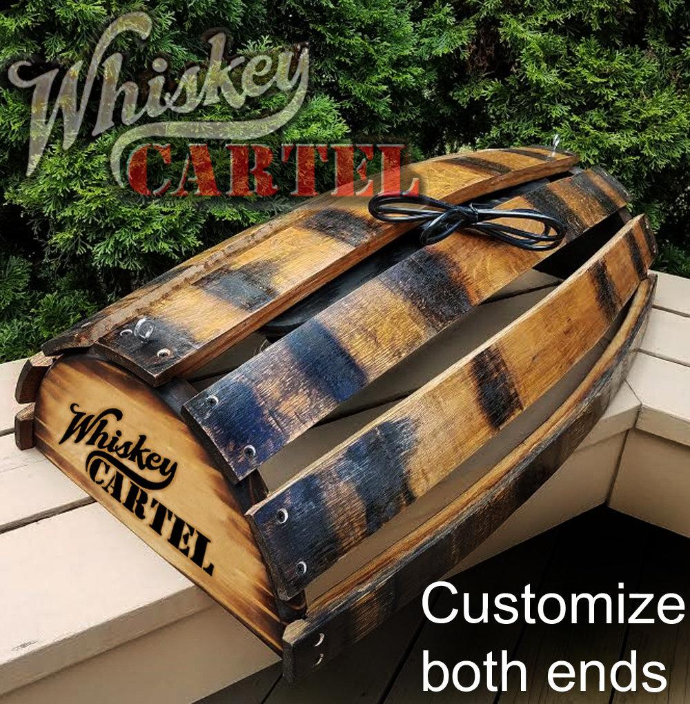 Whiskey Barrel Pool Table Bar Billiards Hanging Light