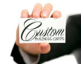 Custom Business Card Design, Business Card File, Digital Business Card, Custom Business Card Template, Professional Graphic Design Services