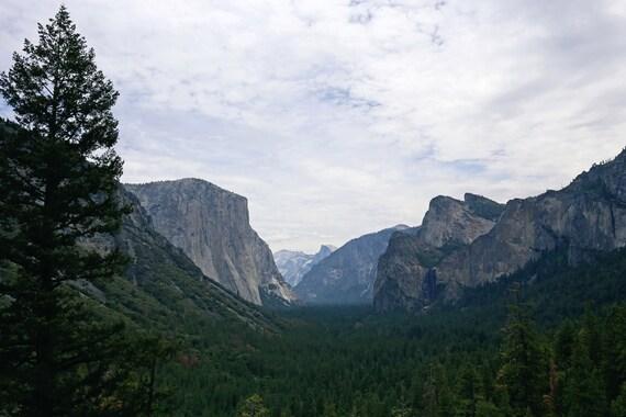 Yosemite Valley LANDSCAPE ART PRINT ALBERT BIERSTADT 11x14 Poster Half Dome