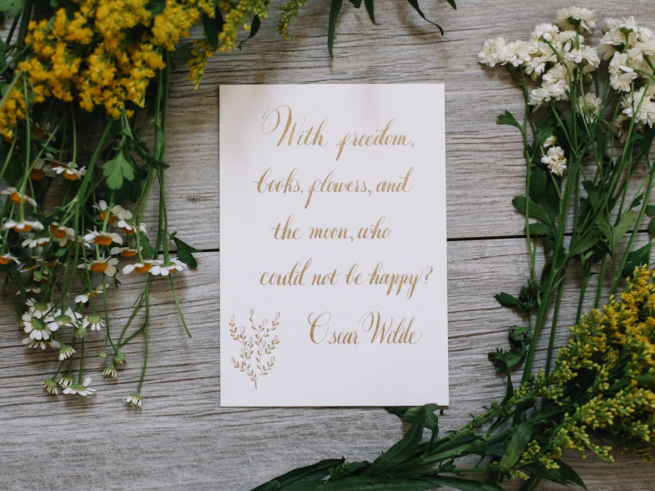 Oscar Wilde Quote Freedom Books Flowers Quote Moon Quote Life Etsy