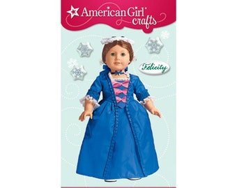 MEET~TEA /& CHRISTMAS GOWN~NIGHTGOWN~CAP AMERICAN GIRL FELICITy MINI STICKERS~2
