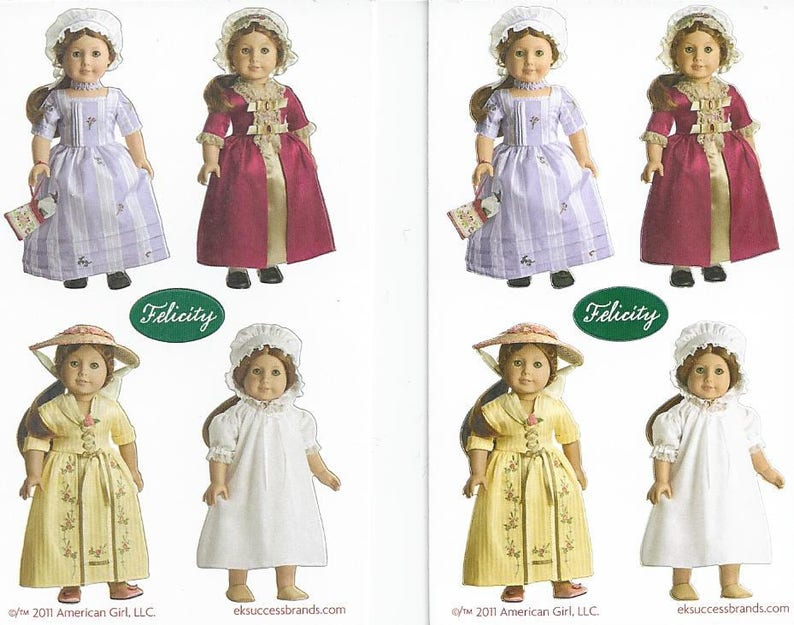 AMERICAN GIRL ADDY MINI STICKERS~2 MEET~SUMMER~WINTER COAT~SUNDAY BEST OUTFITS!