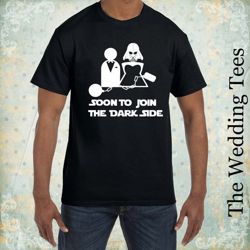 6941a70b Wedding Funny T-Shirt // Groom Tees // Star Wars Funny Tees // | Etsy