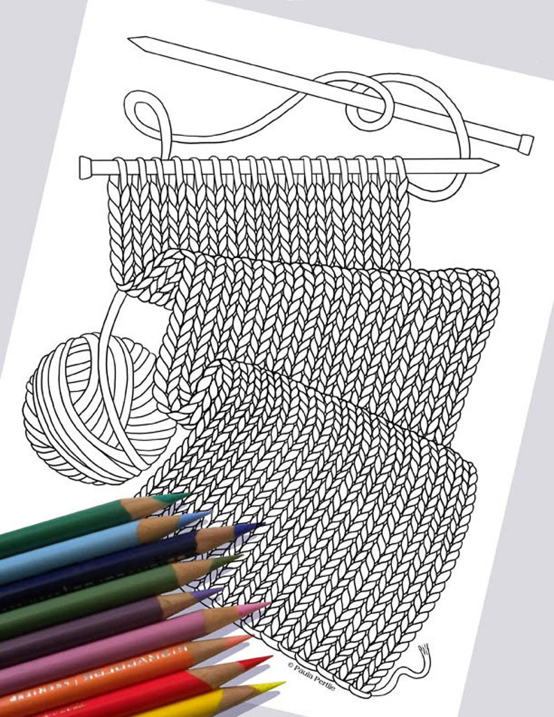 WORK IN PROGRESS Coloring Page / Printable Coloring Page / image 0