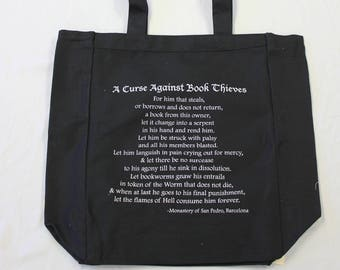 Curse Against Book Thieves Tote