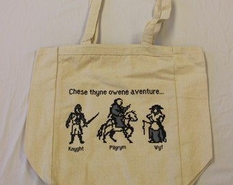 8-Bit Chaucer Tote