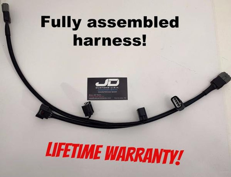 Mitsubishi Evo 4-9 Fully embled COP Wire Harness (Coil-on-Plug) on