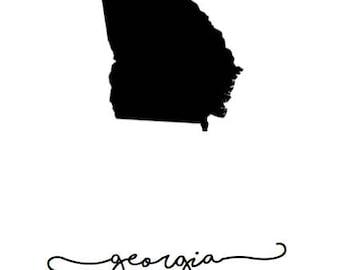 Georgia Printable