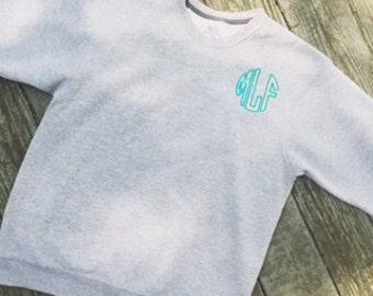 Lilly Pulitzer Monogrammed Sweatshirt
