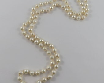 "24""  6.00mm Cultured Pearl Necklace"