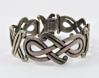 Vintage Mexican Maricela Sterling Silver 7  Bracelet