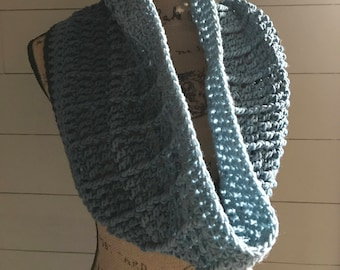 Country Appeal Crochet Infinity Scarf/Cowl