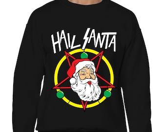 Oh Hi Santa Xmas Tree Christmas December Funny Tommy Mark Etsy