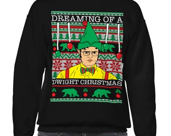 Ugly Christmas Sweater The Office Etsy