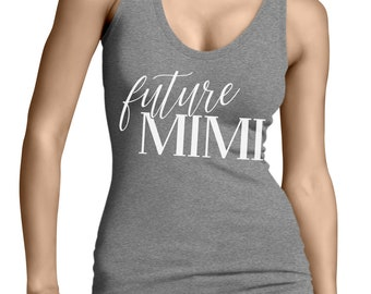 Future Mimi Family Arrival Expecting Baby Shower Aunt Auntie Love Celebrating Life Preparing Planning Bond Strength Men/'s Hoodie SF-0363