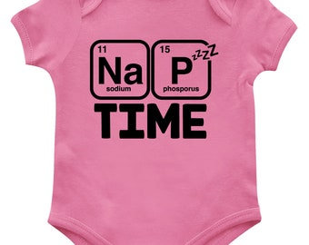 SpiritForged Apparel Nap Time Periodic Table Toddler T-Shirt