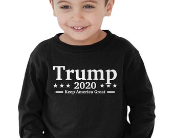 Trump 2020 Presidential Candidate Campaign American Patriotic Infant Bodysuit KID-0279