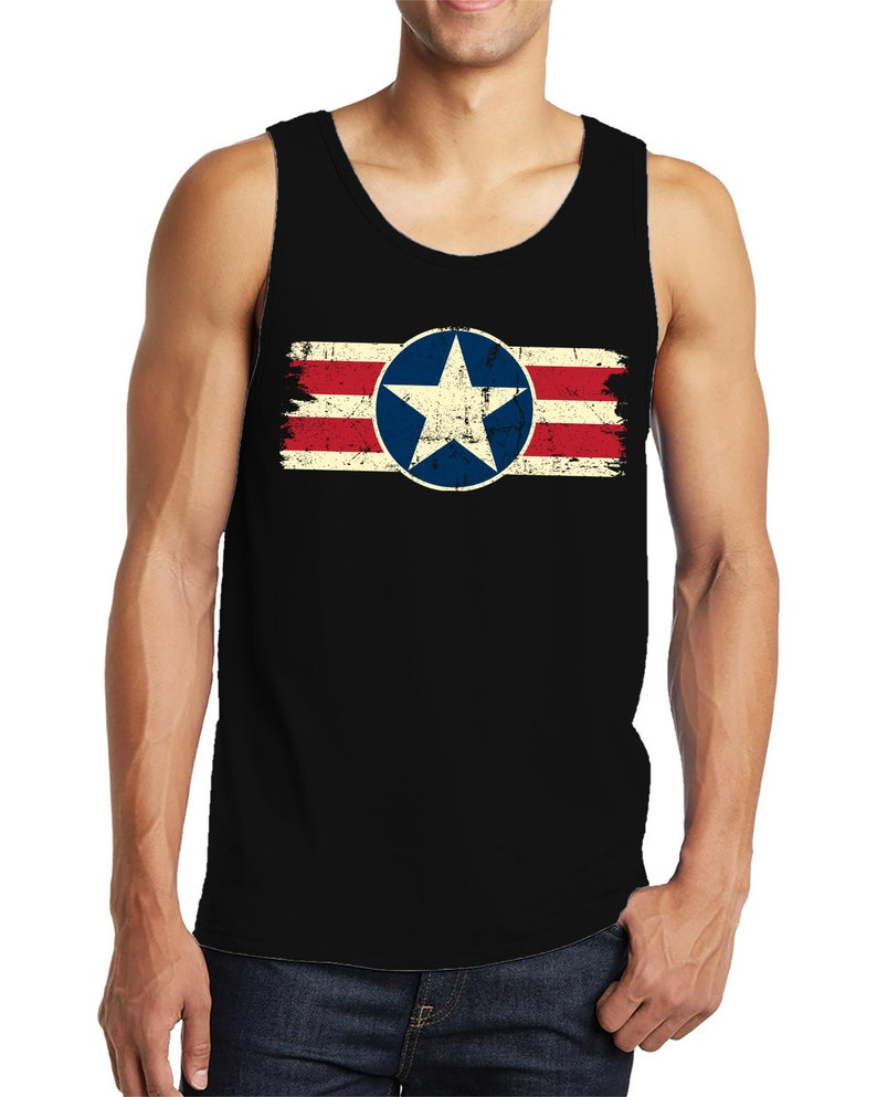 0c36f804ce701b Retro Army Star Logo USA Flag Patriotic Patriotism Land Of The
