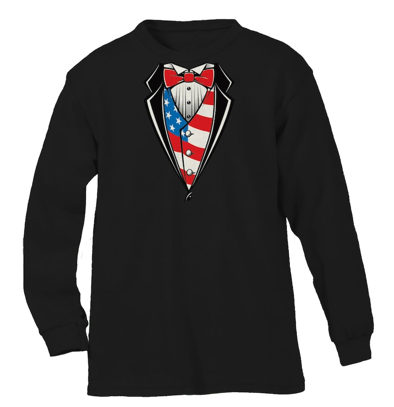 90a1edce Oversized USA Tuxedo Flag United States Of America Formal Tux | Etsy