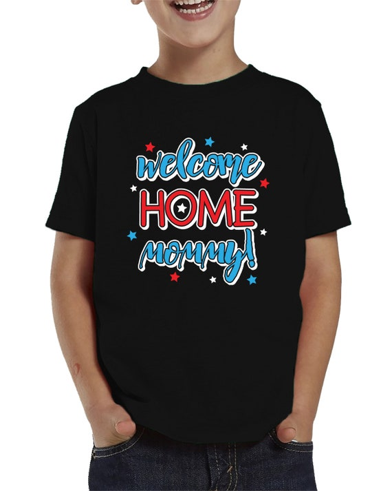 Toddler T-Shirt SpiritForged Apparel Welcome Home Mommy