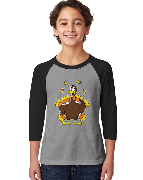 5379bb092de Candy-Corn Turkey Thanksgiving Dinner Feast November Feather