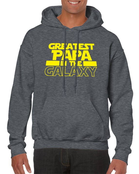 Gift 8 Colours Unisex Sweater Jumper Best Dad In The Galaxy Fathers Day