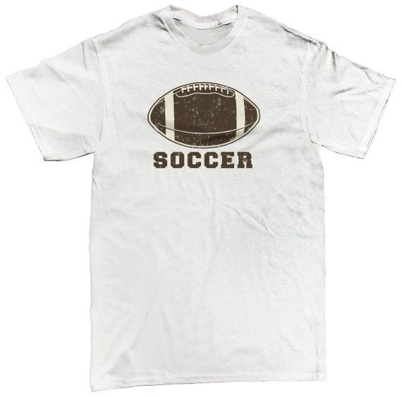 Soccer Football Parody Sports Ball Funny Kickoff Men s  f8b176d77