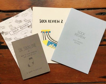 Sock zine bundle
