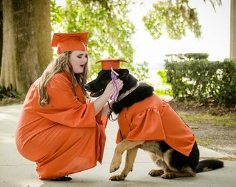 9bbb75670d38 Dog Graduation Cap and Gown