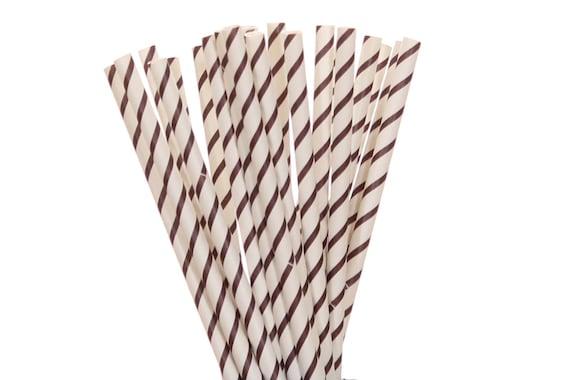 papier stroh packpapier schmal gestreifte strohhalme etsy. Black Bedroom Furniture Sets. Home Design Ideas
