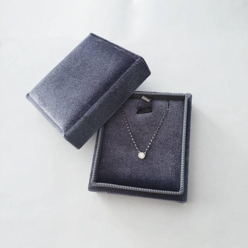 Sapphire /& Diamond Pendant
