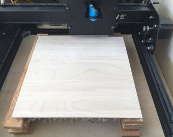 """40 sheets of 12"""" x 12"""" x 1/8"""" B/BB baltic Birch Plywood for Laser Cutting / Crafts Free Shipping"""