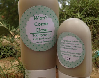 All natural bug repellent with rosemary citronella lemongrass and more!