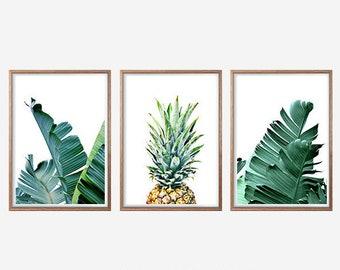 banana leaf art etsy