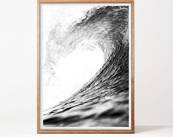 Ocean Waves Print, Wave Art, Ocean Wall Art, Ocean Waves Printable, Sea Print, Ocean Print, Ocean Art, Ocean Wave, Waves Print, Ocean Photo