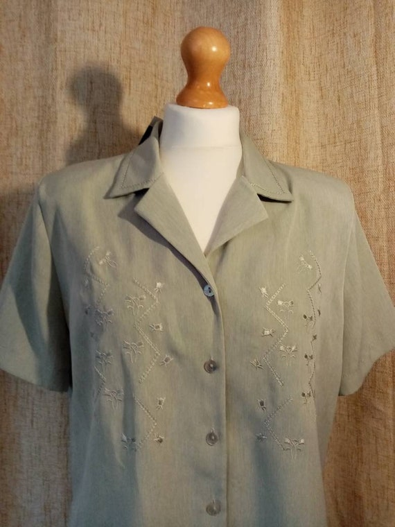 1940s style blouse - image 1