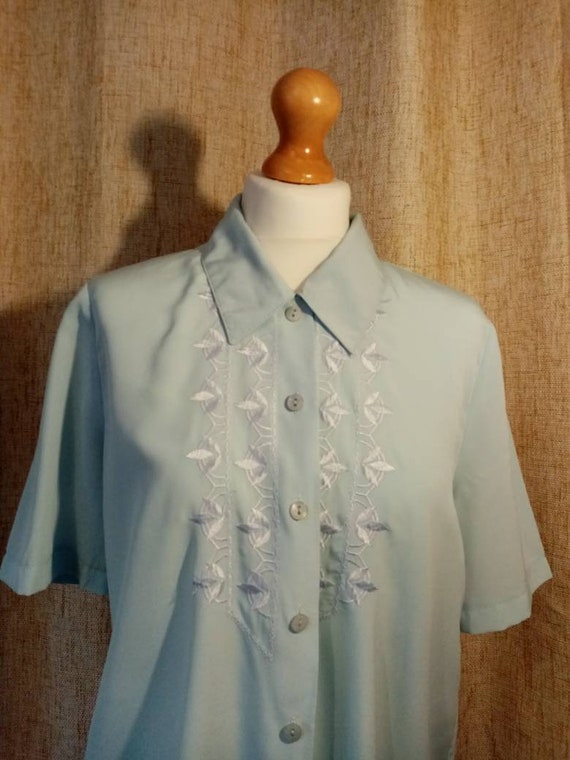 1940s style blouse