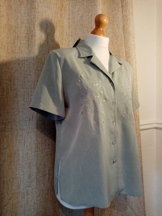 1940s style blouse - image 3