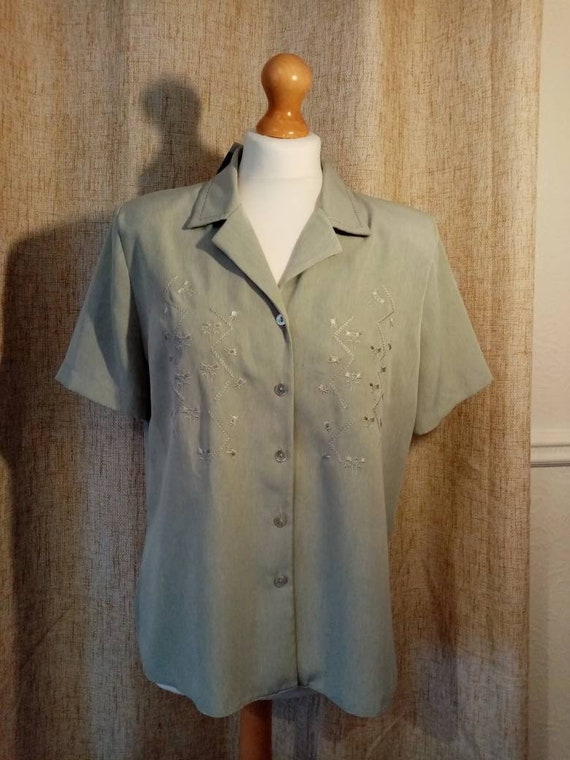 1940s style blouse - image 2