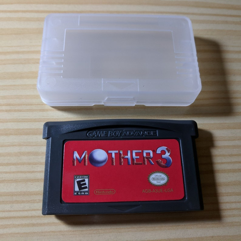 Mother 3 Game Boy Advance GBA English Translated (Earthbound)