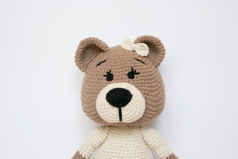 Teddy Bear Crochet Patterns With Clothes | The WHOot | 531x794