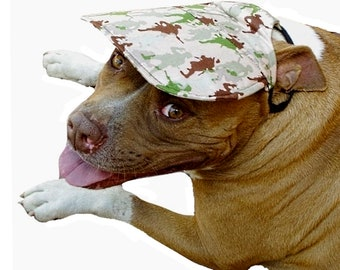Dog Hat XS S M L XL Army Men Camo Boy Male Sun Protection - Cap Head Pet  Clothes Clothing Accessories Puppy a624c93f1fb9
