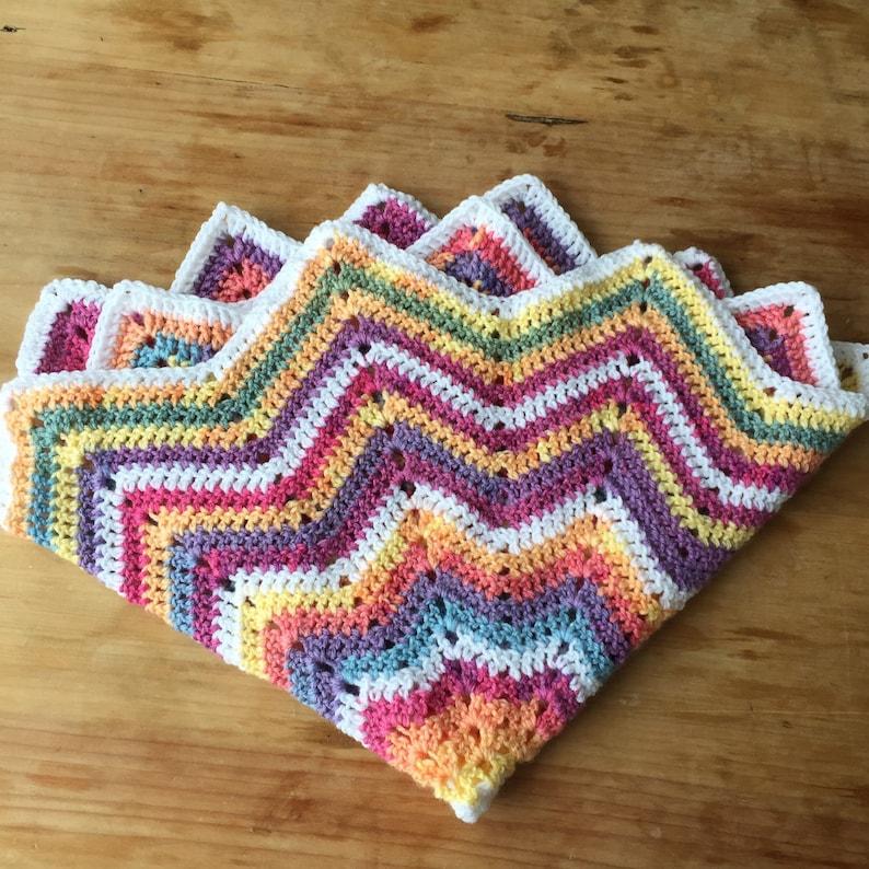 Star crochet blanket