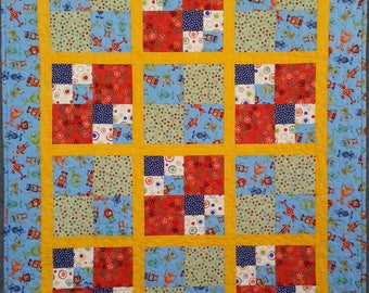 Space Baby Kids Quilt