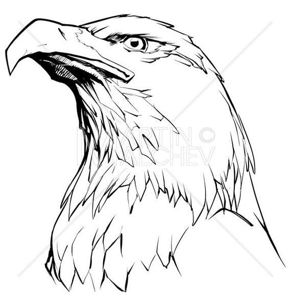 ANIMAL Pullover Eagle FACE USA Aquila Animali Natura Bianco Testa Aquila Indiani