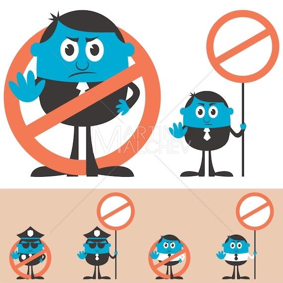 Forbidden - Vector Illustration  forbid, forbidding, prohibit, prohibiting,  prohibition, stop, disallowed, not allowed, ban, sign, gesture,