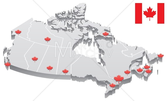 Canada Map - Vector Cartoon Clipart Illustration. 3d, capital, city, on map of canada first nations tribes, map of canada with cities, map of canada abbreviations, canada map with states and capitals, map of canada provinces, u.s. map capitals, map of downtown montreal canada hotels, map mexico capitals, map of canada nhl teams, french canada map capitals, map australia capitals, map of canada geographical features, map of quebec and ontario canada, map of us and canada, map of canada landscape, map of canada seas, map of canada new york, map of countries near the netherlands, map of canada languages, map of canada history,