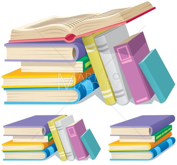 Pile Vector Bande Dessinee Illustration Du Livre Livres Pile Pile Tas Collection Litterature Education Manuel Manuel Dictionnaire